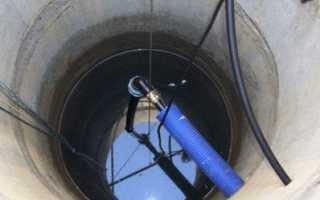Как проложить трубу в колодец