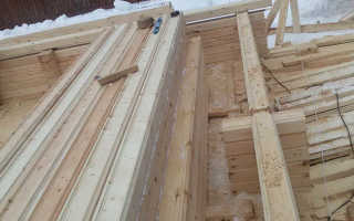 Как правильно сложить дом из бруса