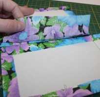 Как обшить коробку бумагой