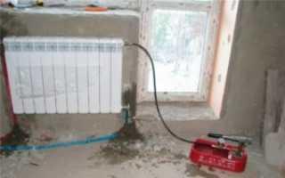 Как почистить алюминиевый радиатор отопления