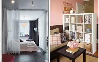 Как поделить зал на 2 комнаты