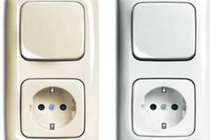 Как правильно подсоединить двойной выключатель с розеткой