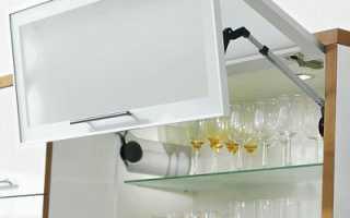 Как отрегулировать подъемный механизм в кухонном шкафу