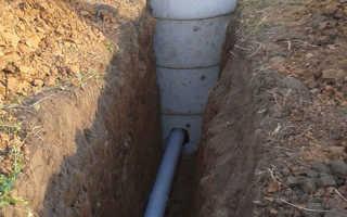 Как правильно закопать канализационную трубу