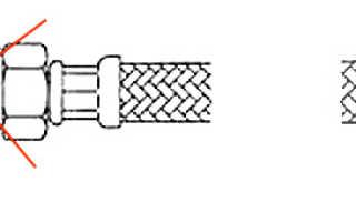 Как подсоединить гибкую подводку к смесителю