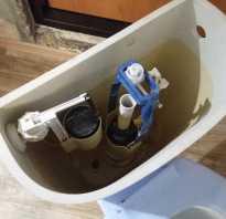 Как отрегулировать спуск воды в унитазе