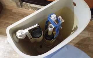 Как отрегулировать слив воды в унитазе видео