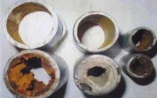 Как почистить трубу отопления