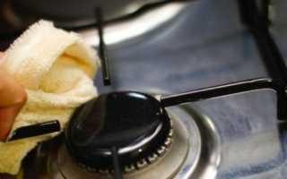 Как отмыть чугунные решетки на газовой плите