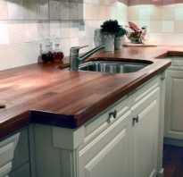 Как обновить поверхность столешницы на кухне
