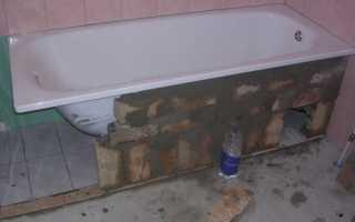 Как обкладывать ванну плиткой