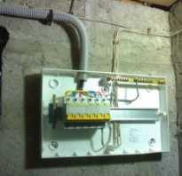 Как развести электрику в гараже
