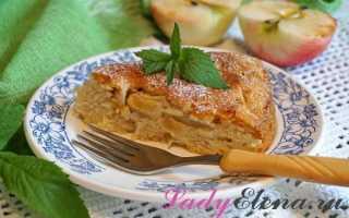 Как постряпать пирог с яблоками