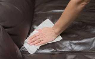 Как помыть кожаный диван в домашних условиях