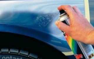 Как правильно красить автомобиль баллончиком