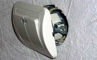 Как подключить двухклавишный выключатель к двум люстрам