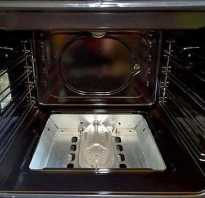 Как почистить нагар в духовке
