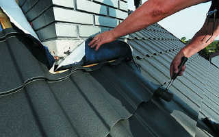 Как отделать дымоход на крыше