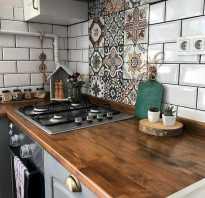 Как поставить плитку на кухне