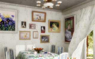 Как оформить вышивку на стену