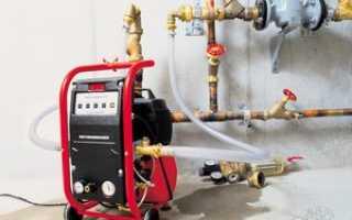 Как промывают систему отопления в многоквартирном доме