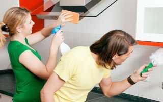 Как почистить кухню из пластика