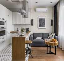 Как поделить кухню и гостиную