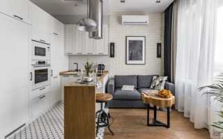 Как правильно зонировать кухню гостиную
