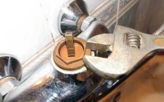 Как отремонтировать смеситель в ванной видео