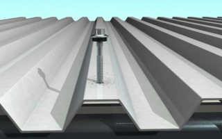 Как правильно прикручивать профлист на крышу
