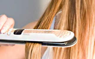 Как правильно вытягивать волосы утюжком