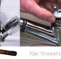 Как отремонтировать кран на кухне видео