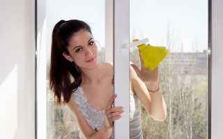 Как правильно мыть стекла на окнах