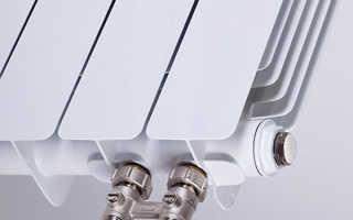 Как подключить стальной радиатор с нижним подключением