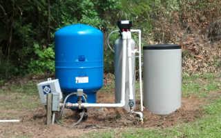 Как отфильтровать воду из скважины от железа