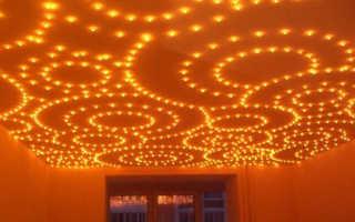 Как правильно подобрать светильники для натяжных потолков
