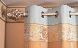 Как приделать кольца на шторы
