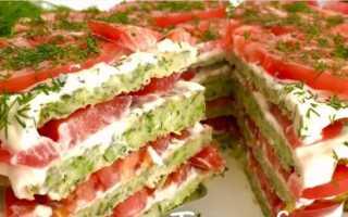 Как приготовить тортик из кабачков