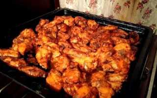 Как приготовить маринад для куриных крылышек