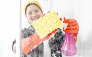 Как очистить стекла душевой кабины от налета