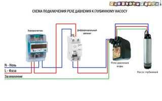 Как подключить реле давления к электричеству