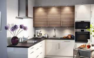 Как повесить угловой кухонный шкаф