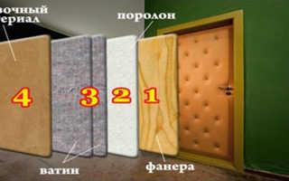 Как правильно обить дверь набором для обивки