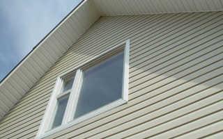 Как подшивается фронтон крыши