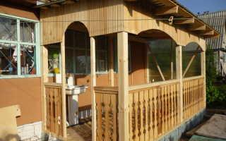 Как построить террасу на даче