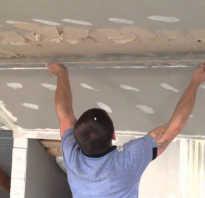 Как правильно наносить штукатурку на потолок
