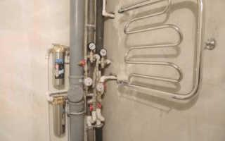Как подключить полотенцесушитель к системе горячего водоснабжения