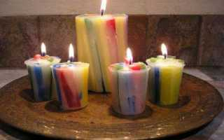 Как правильно делать свечи