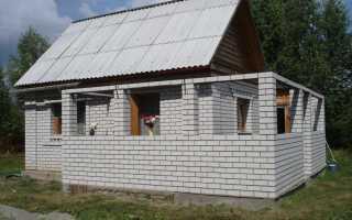 Как правильно строить дом из пеноблоков