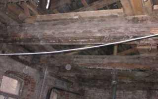 Как поменять деревянные перекрытия